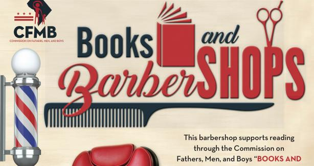 Books and Barbershops Poster
