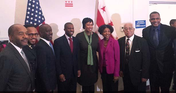 Mayor Bowser and the CFMB
